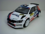 Škoda Fabia R5 No.9 Kresta Barum Rally 2017 1:18 Fox Toys
